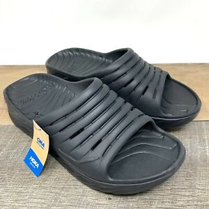 Hoka One One Ora Recovery Slide 2 — Black, 1099673 Men's Size 12
