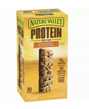 Nature Valley Peanut Butter Dark Chocolate Protein Chewy Bars  Gluten Free 30ct