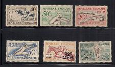Francia Estampillas 1953 a 50f valor nunca con bisagras 20f de 75F sobreimpresión CFA