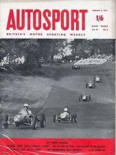 Autosport enero de 11th 1957 * Phillip Island & encuesta de fórmula 3 *