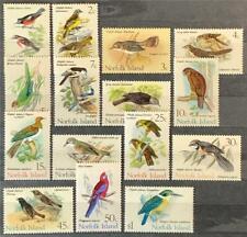 More details for norfolk islands. definitive bird stamp set. sg103/17. 1970-71. mnh. #ets151.