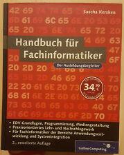 IT-Handbuch für Fachinformatiker von Sascha Kersken (2007, Gebundene Ausgabe)
