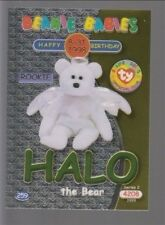 1999 TY Beanie Babie Series 2 Birthday/Rookie Card Halo Green #259