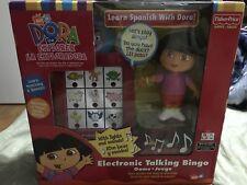 Dora The Explorer Electronic Talking Bingo Game Fisher Price brand new rare