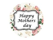 35 Happy Mothers day Stickers Mum Mother Floral 560 Sticker Card Gifts