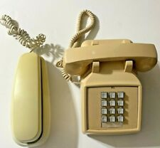 Lot of 2 Vintage Cortelco & GE Corded Telephones (See Description) - Working
