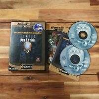Alien Versus Predator - Gold Edition - PC CD Rom Game Complete With Manual