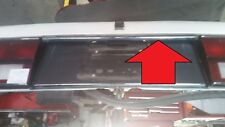 81 82 83 84 85 86 87 88 Rolls Royce Silver Spur Spirit trunk upper chrome strip