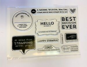 Best Decision Ever - exclusive Stampin' UP! demonstrator business stamp set