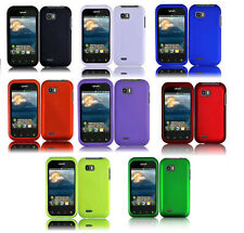 Hard Protector Faceplate Case Phone Cover Accessory for LG Eclypse 4G C800G C800