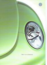 Coccinelle Volkswagen la brochure commerciale 1998 1999