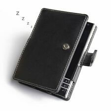 PDair Leather Book Type Case Cover for BlackBerry Passport - Black