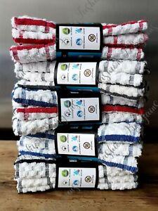 Multi Pack 100% Egyptian Cotton Jumbo Terry Tea Towels Kitchen Towel Dish Cloth