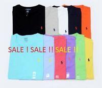 Brand New men's Ralph Lauren Cotton Short Sleeve Polo T Shirt All Sizes S-XXL**