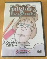 Greatest American Tall Tales & Legends Pecos Bill DVD VIDEO MOVIE coyotes cowboy