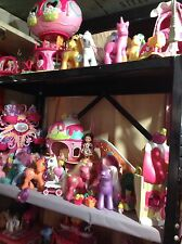 My Little Pony HUGE Lot; Castle, Ferris wheel and A Lot More!!! 4 Shelfs Full!