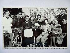PIERIS 1939 trattoria bici ciclismo cycling Udine vecchia cartolina