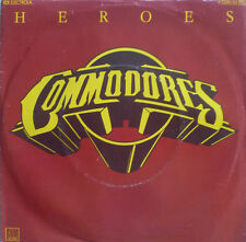 """7"""" 1980 RARE MINT- ! THE COMMODORES : Heroes"""