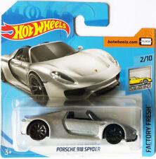 Articoli di modellismo statico in argento Scala 1:64 per Porsche