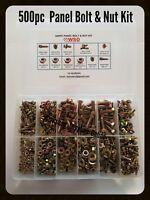 NUT & BOLT KIT 500pc SUITS TOYOTA COROLLA KE10 15 20 25 30 35 50 55 70