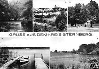 AK, Gruss aus dem Kreis Sternberg, fünf Abb., V.1, 1982