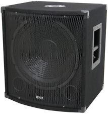 """QTX QT15s 15"""" 300W Subwoofer Bass Bin Speaker DJ Disco Sound System PA"""