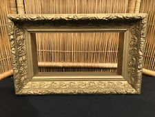 VIctorian 19thC Gold Gilt Picture FRAME Shadow box type