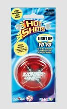 Hot Shots Light Up YoYo Yo Clutch Mechanism Fun Toy Speed Ball High Performance