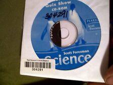 Scott Foresman Science Quiz Show Grade 1 CD-ROM (Insert included)