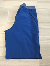 Mens Lightweight Shorts Blue Size 34 New Condition