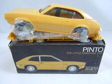 NIB 1971 FORD PINTO DEALER PROMO CAR MODEL YELLOW MOTORIZED