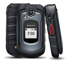 Kyocera DuraXE LATEST E4710 -PTT - AT&T LTE 4G RUGGED  5MP FLIP PHONE LAST ONE!