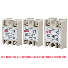 Solid State Relay Ssr 102540758090100dd Single Phase Solid State Relay