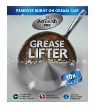 Astonish Grease Lifter (Buster) Tablets 10 x 20g Deep Fat Fryer Cleaner Tablets
