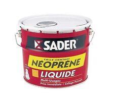 COLLE CONTACT NEOPRENE TRES PUISSANTE LIQUIDE 2.5L SADER bois cuir plastique met