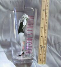 Collectible Marilyn Monroe Glass; No marks; Sticker in tact