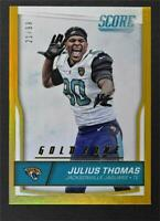 2016 Score Jumbo Gold Zone #153 Julius Thomas /99 - NM-MT