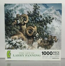Ceaco 1000 Piece Jigsaw Puzzle Rocky Mountain Bighorn Sheep Larry Fanning