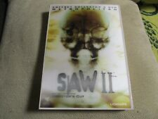 "COFFRET COLLECTOR 2 DVD ""SAW 2 II"" Donnie WAHLBERG / Darren Lynn BOUSMAN horreur"