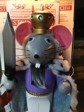 STEINBACH NUTCRACKER CHUBBY MOUSE KING S1866 NIB