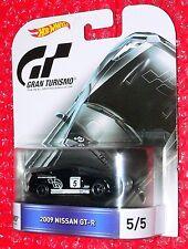 Hot Wheels GRAN TURISMO 2009 Nissan GT-R #5 DJF40-L718
