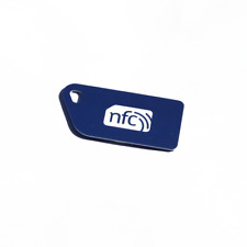 5 Blu NFC Tag in Plastica Key Card NXP Ntag 213 Android Windows Samsung