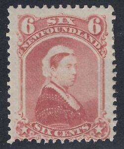 Newfoundland # 35 Mint Hinged Fine Single