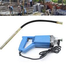 New listing Concrete Vibrator 800W Electric Hand Held Power Concrete Vibrator +1.2M Hose