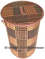 Bambus Wäschekorb Aufbewahrungsbox Wäschetruhe Wäschebox Wäschesammler KorbLN411
