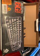 SteelSeries 6Gv2 Mechanical Gaming Keyboard - Black - Cherry MX Black DEUTCH LAY