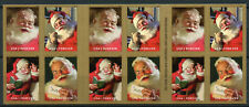 USA 2018 MNH Father Christmas Sparkling Holidays Santa 20v S/A Booklet Stamps