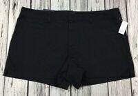Gap Womens Size 16 Black Shorts. 3 Inch City Short Stretch Mid Rise Shorts. Nwt