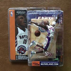 McFarlane NBA Series 1 V.Carter Raptors White Jersey.