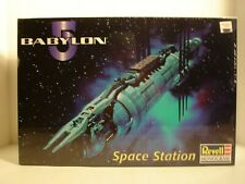 Rare Babylon 5 Space Station Model Kit Misb Revell Monogram B5 Factory Sealed